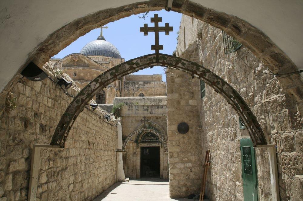 Иерусалим Улица «Виа Долороза»