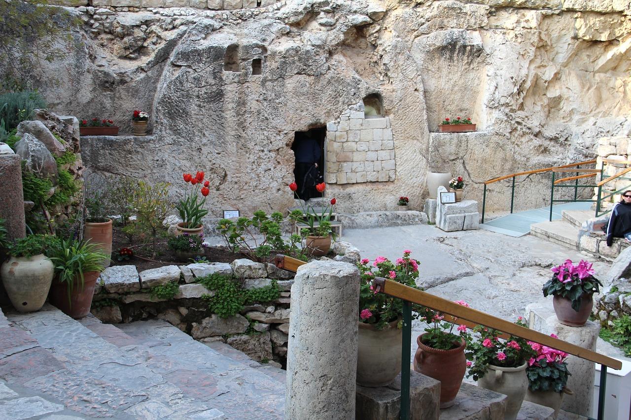 Иерусалим Садовая могила