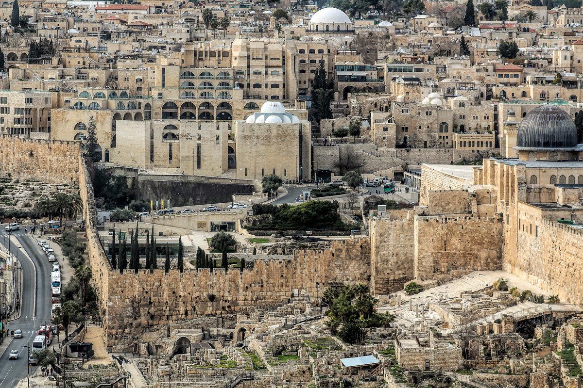 Старый город - это сердце Иерусалима