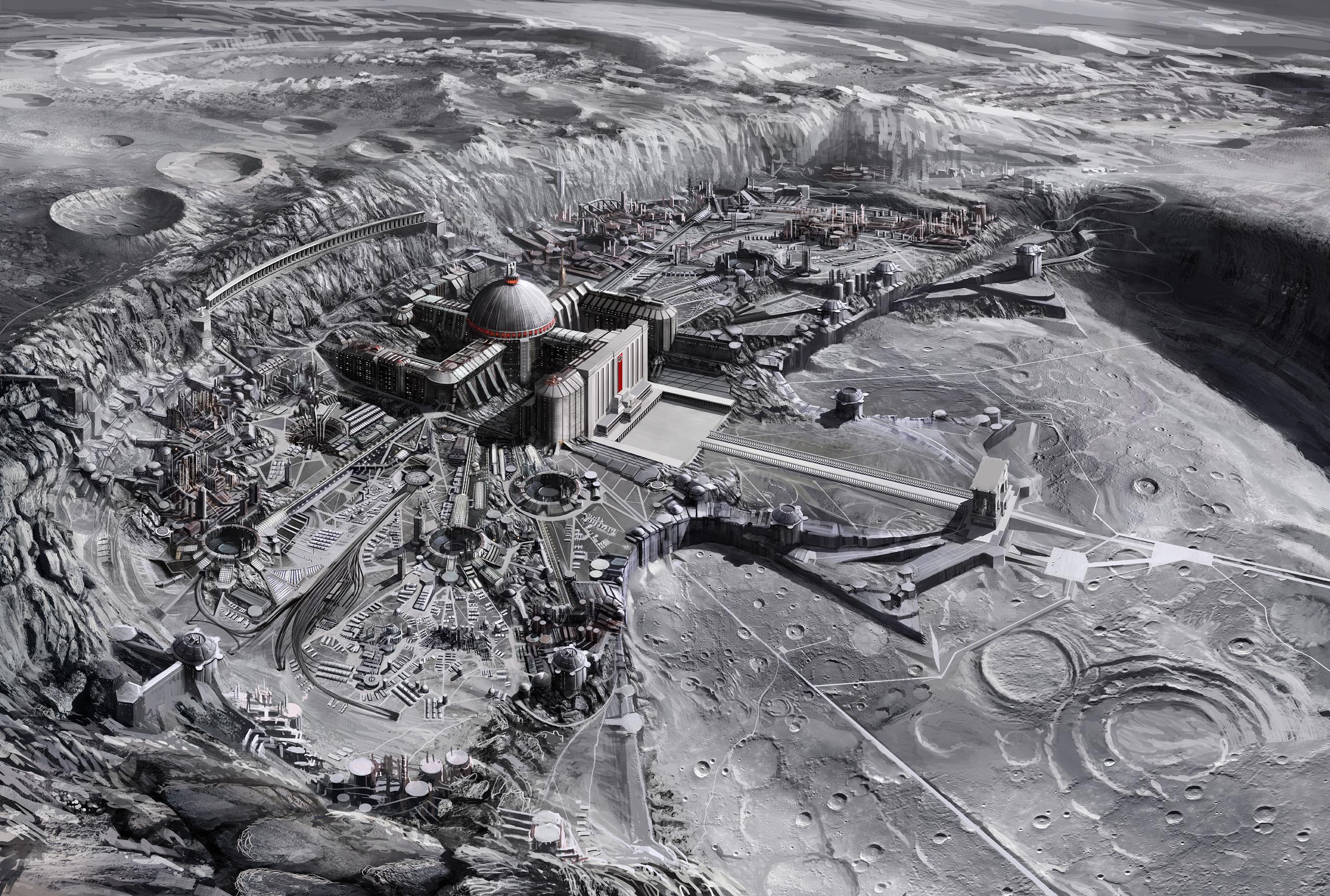 Нацистские лунные базы