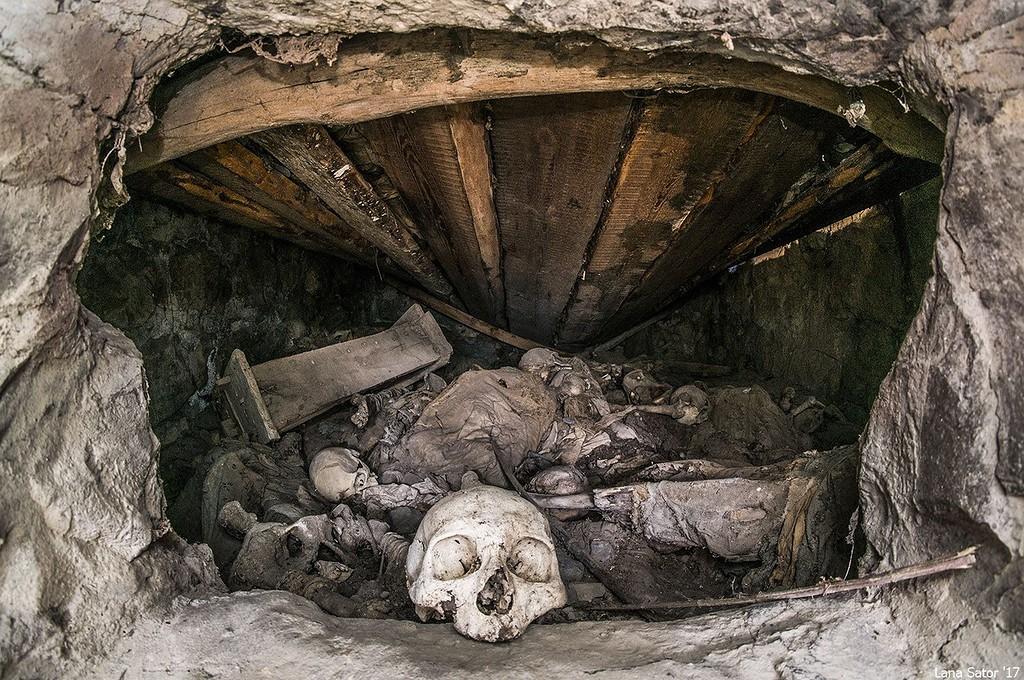 """Город мертвых """"Даргавст"""" в Северной Осетии"""
