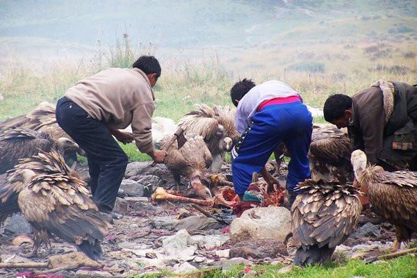 Похоронная традиция в Тибете
