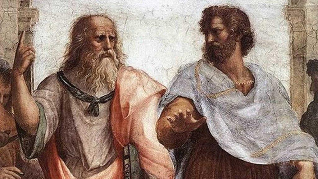 Платон с Сократом