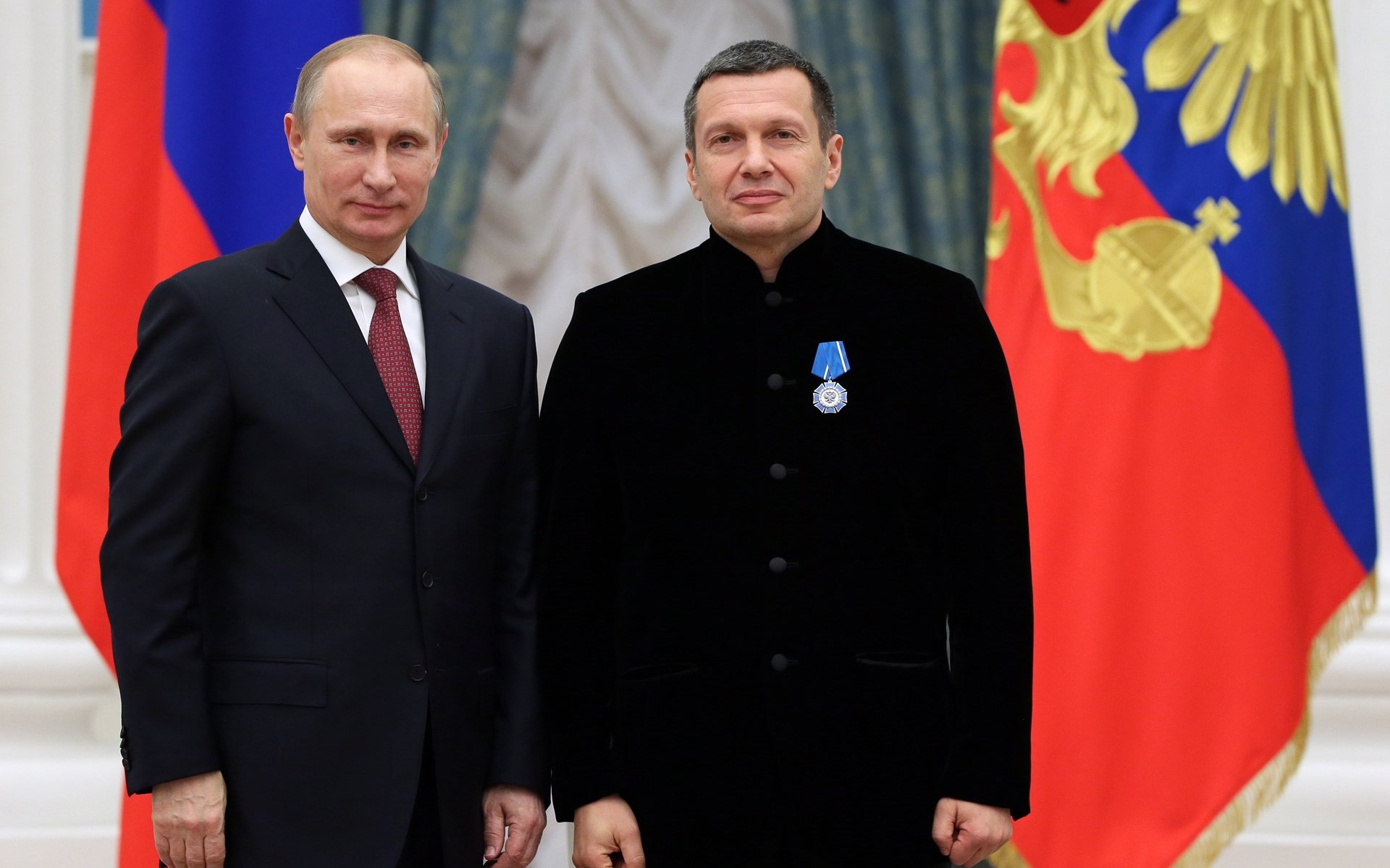 Владимир Соловьев и Путин