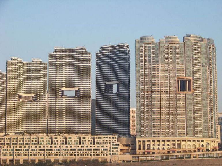 Небоскребы Гонконга по фэншую