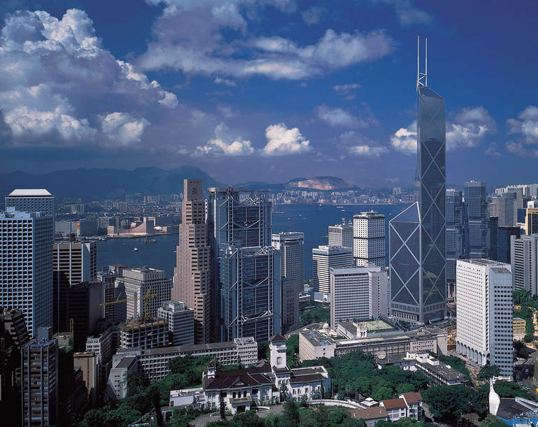 Фэншуй разбросаны по всему Гонконгу