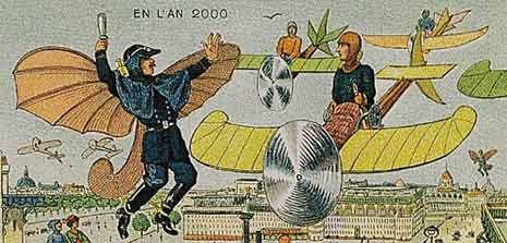 Как представляли 2000 год в 1900-м, начале 20 века