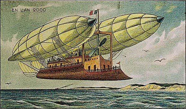 Летающий корабль