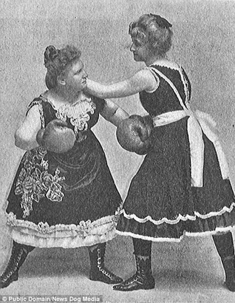 Сестры Гордон, женский бокс