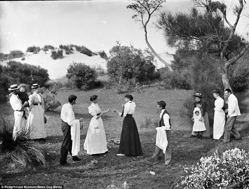 Женский поединок в Австралии в 1895 году