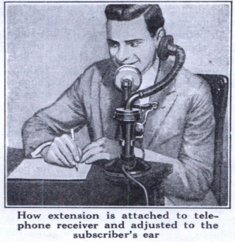 Первый в истории прибор «свободные руки» из 1929 года