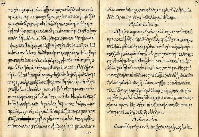Кодекс Copiale