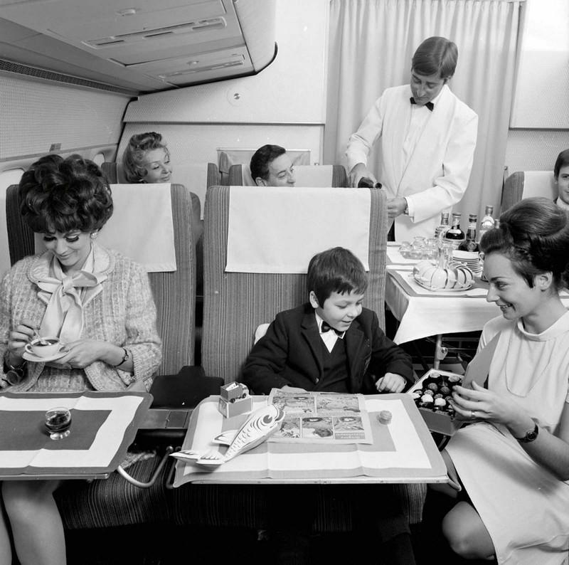 Полет первым классом. 1960-е