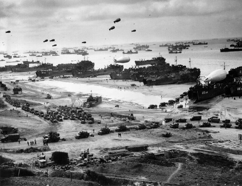 Высадка в Нормандии. 1944 год