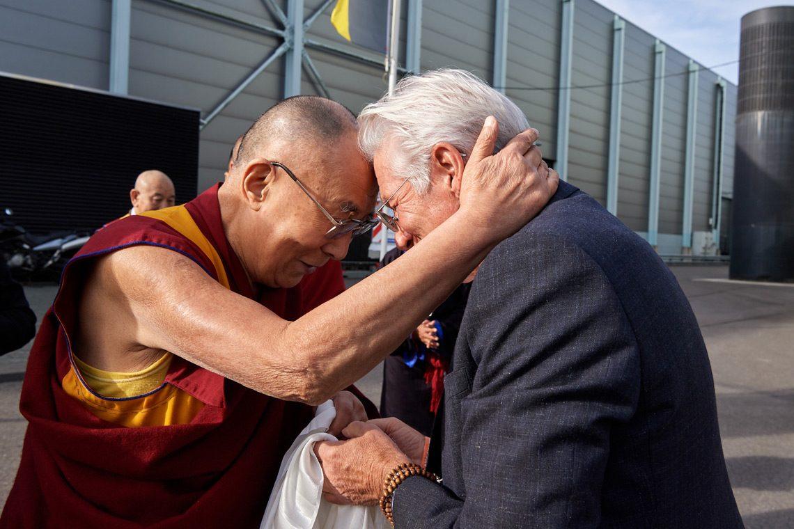 Ричард Гир с Далай-Ламой