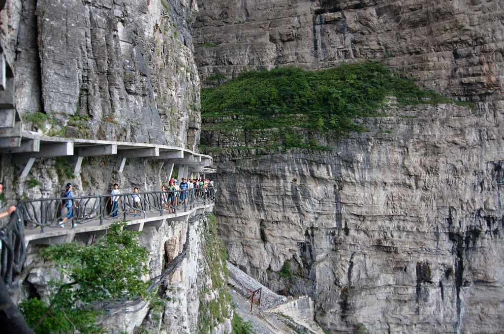 Волшебная пещера Западной Хунани или Небесные ворота