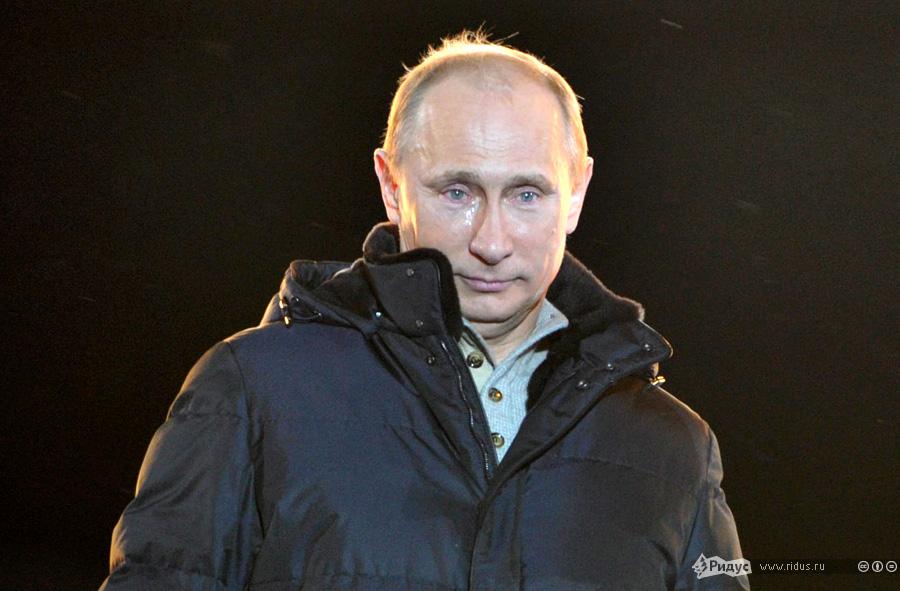 Путин В.В. 2012 года Манежная площадь