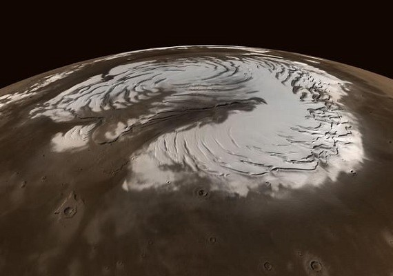 марсианский снег