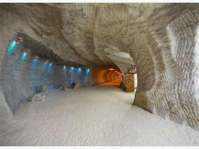 Пещера соляная