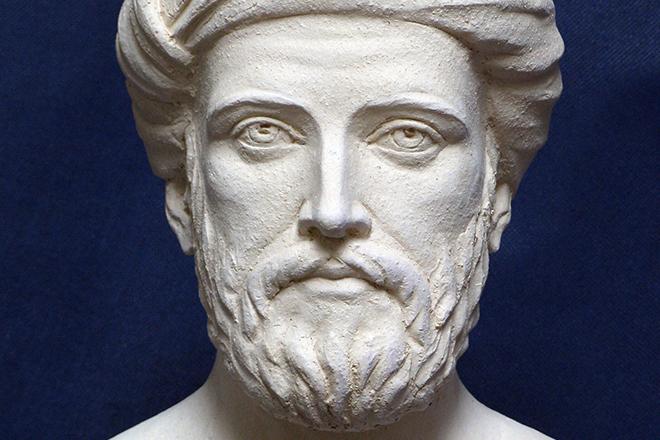Бюст Пифагора