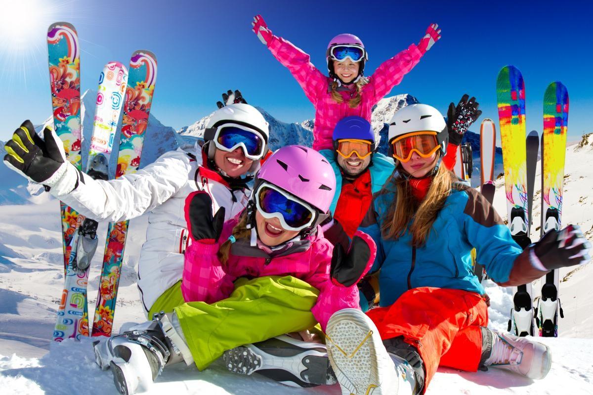 сноубординг с семьей
