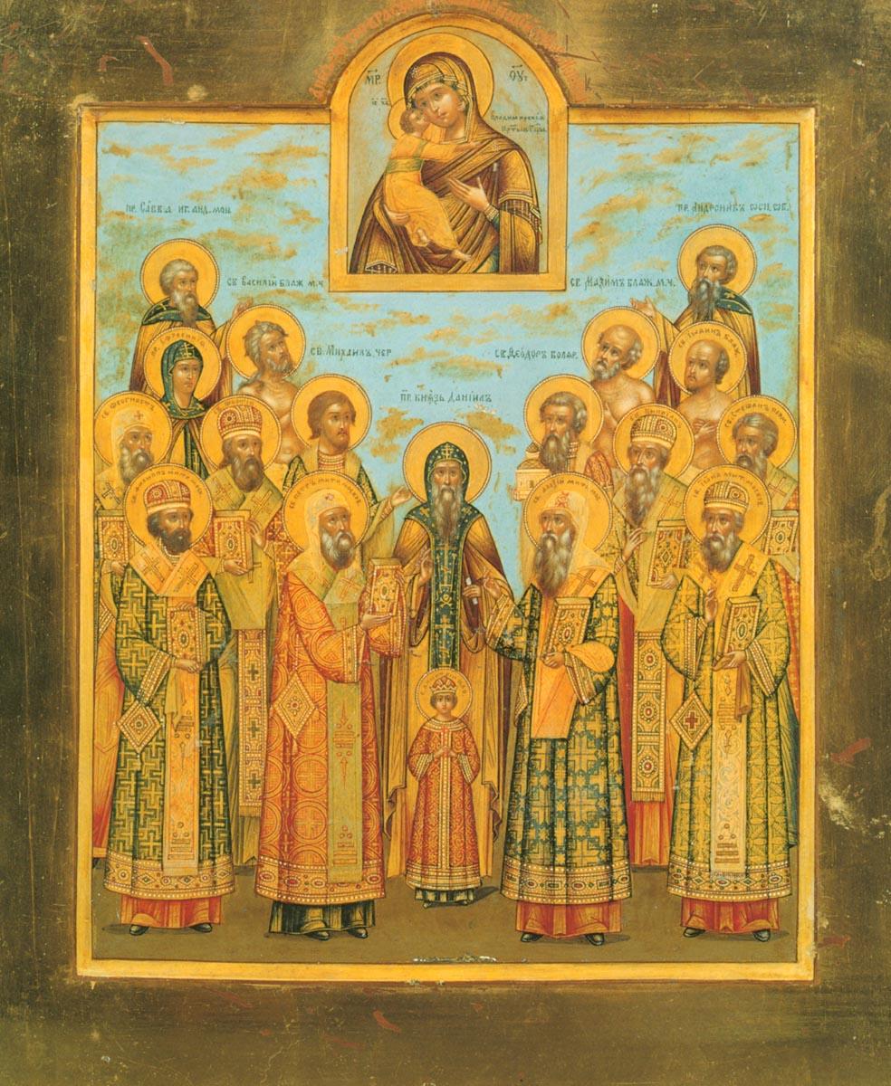 В Соборе Московских святых канонизируют в честь памяти преподобного Рублева.