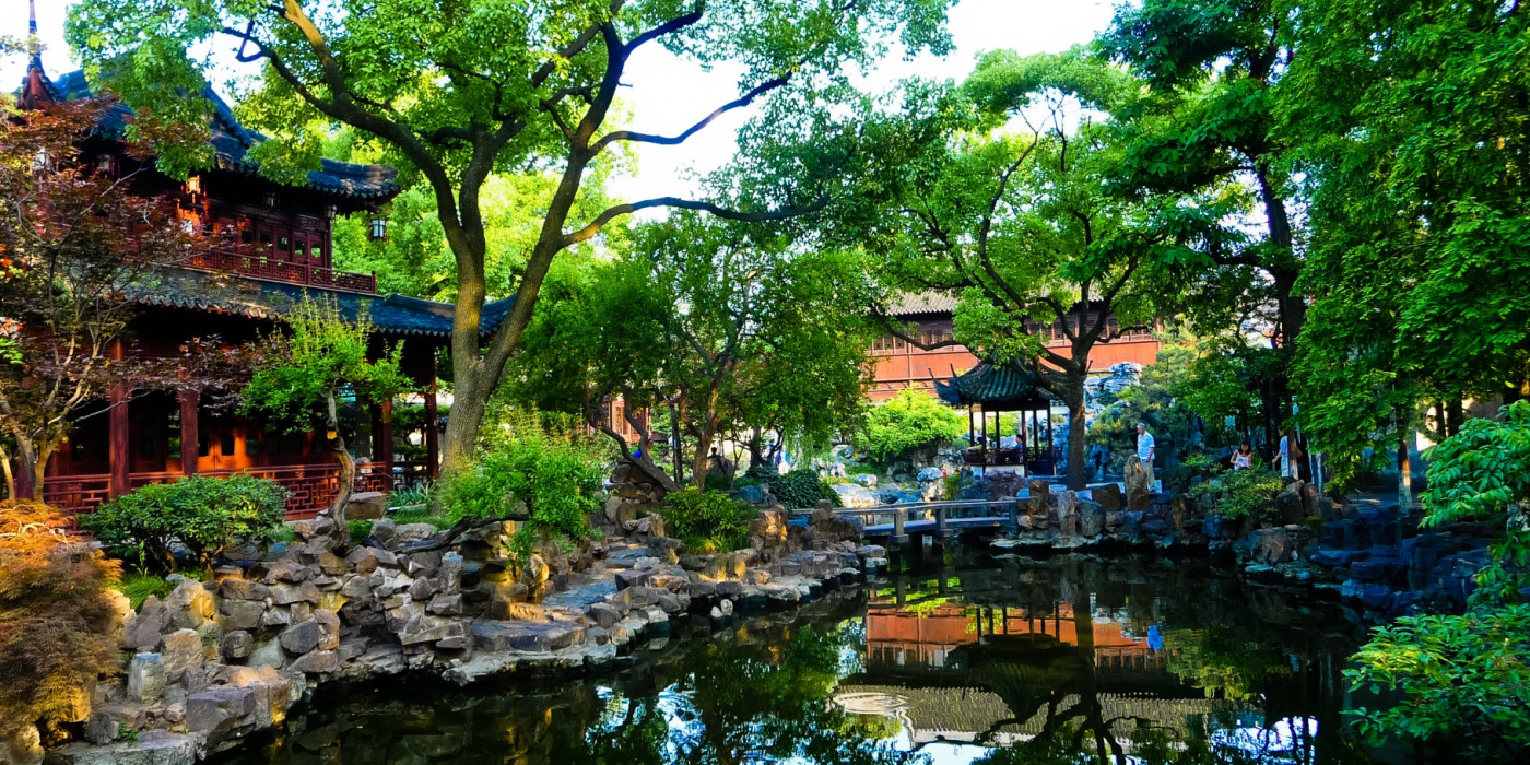 Парк Юйюань Шанхая