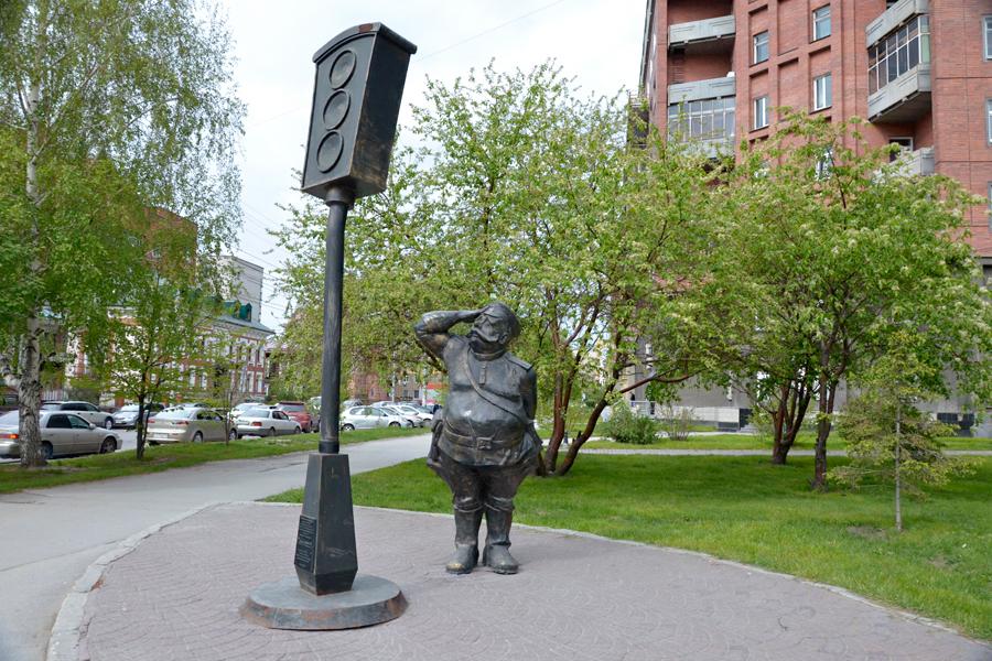Светофор в Новосибирске