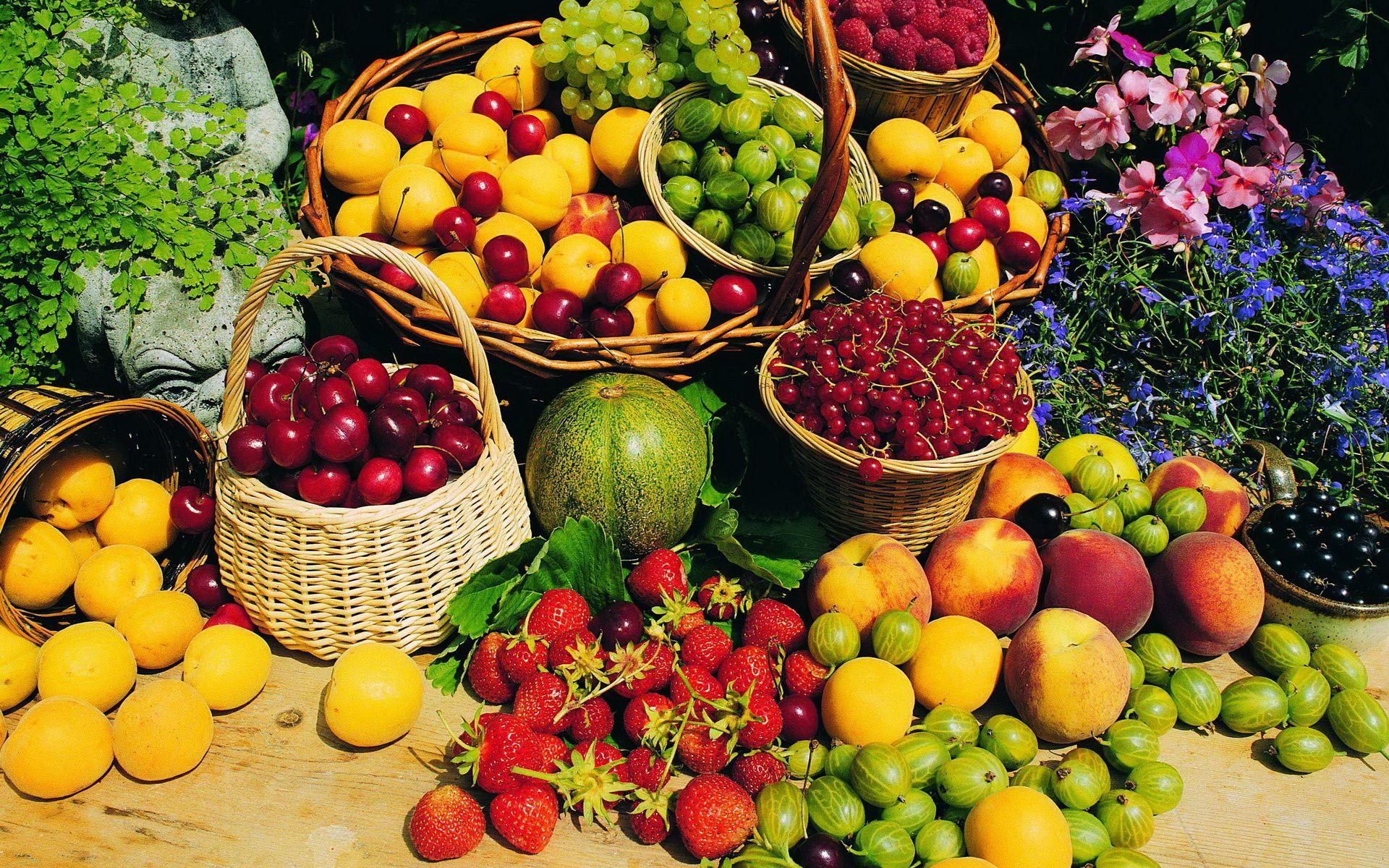 Свойства фруктов и ягод