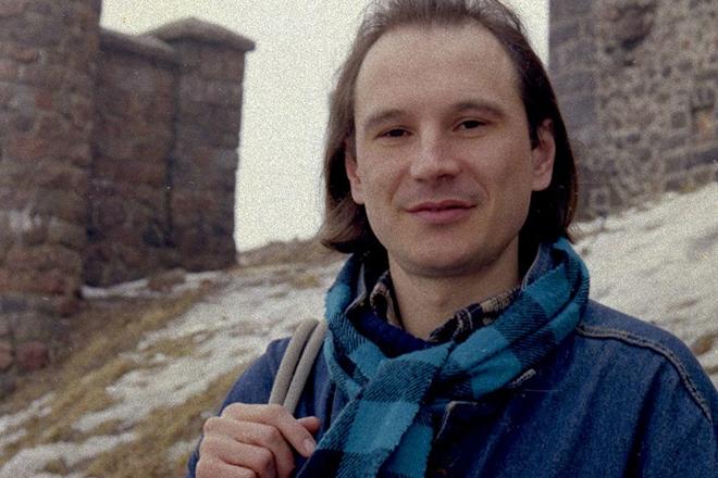 Алексей Балабанов в молодости