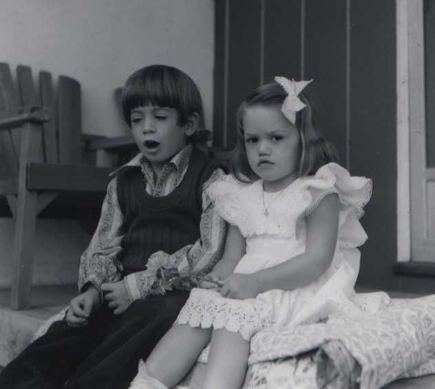 Гвен Стефани в детстве