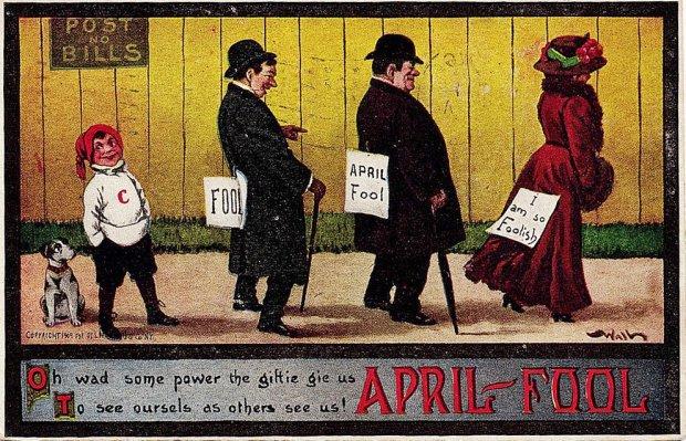 1 апреля - день смеха - История праздника