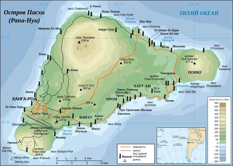 Выяснена причина краха цивилизации острова Пасхи