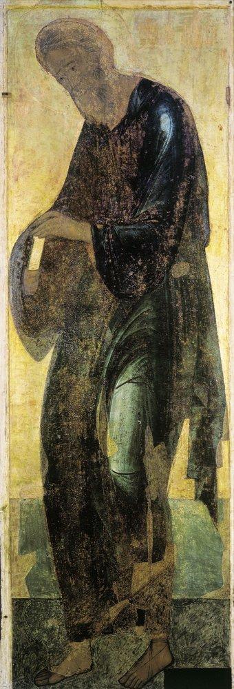 Андрей Первозванный из Деисуса Троицкого собора Троицкого монастыря