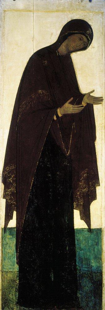 Богоматерь из Деисуса Троицкого собора Троицкого монастыря