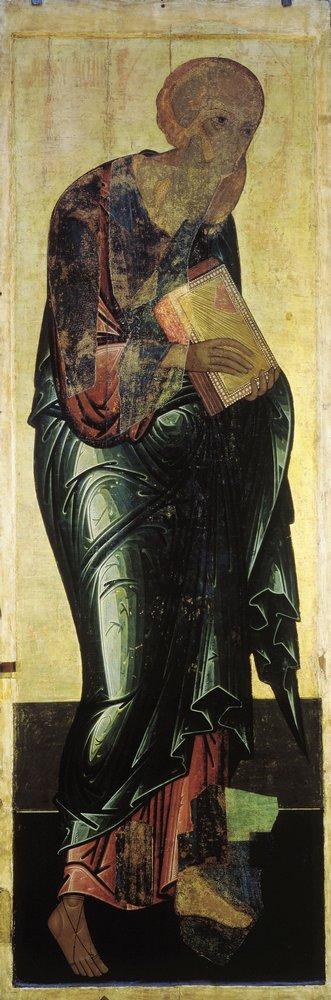 Иоанн Богослов из Деисуса Троицкого собора Троицкого монастыря