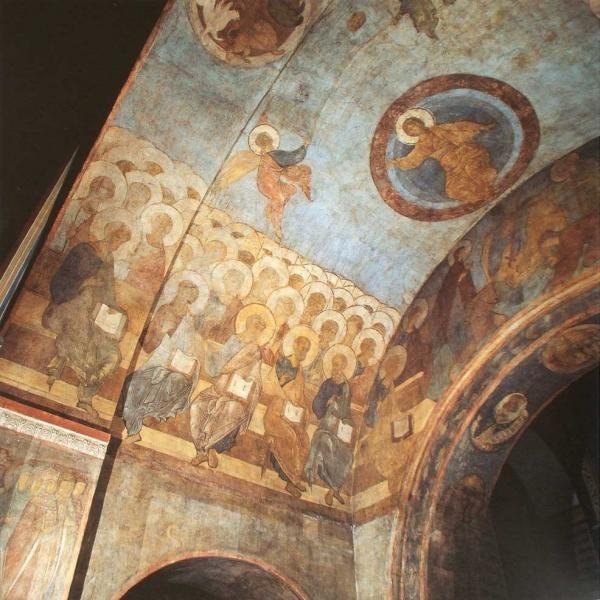 Фрагмент фрески Успенского собора