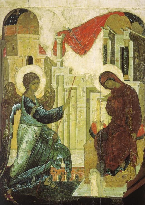 Благовещение ~ 1405 Благовещенского собора Московского Кремля