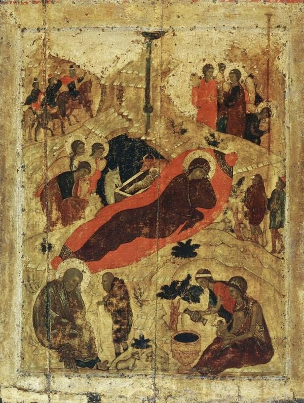 Рождество Христово ~ 1410-е Благовещенского собора Московского Кремля