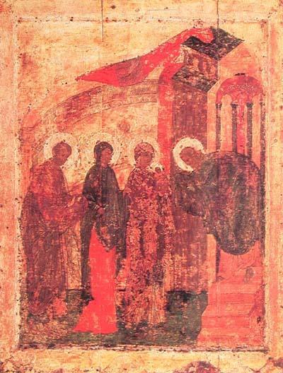 Сретение ~ 1410-е Благовещенского собора Московского Кремля