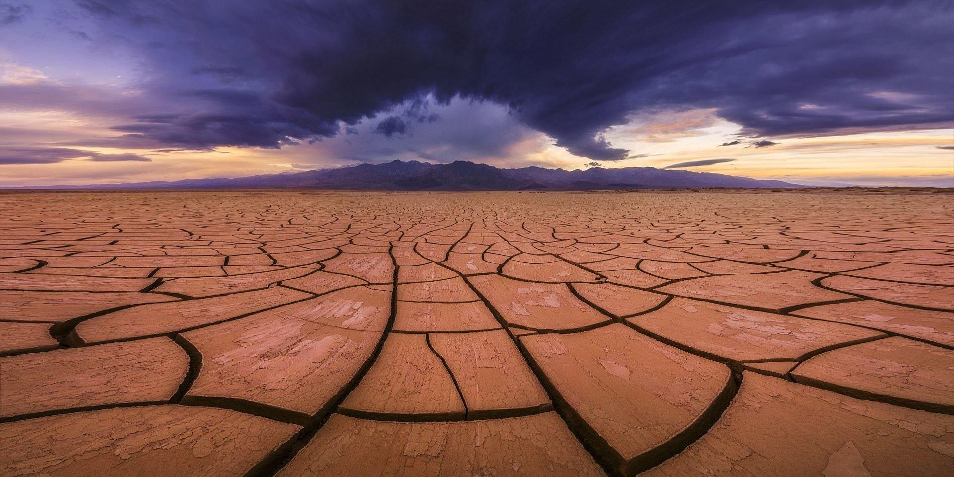 Самой жаркое место на планете - национальный парк Долина смерти в Калифорнии, США