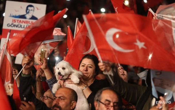 В Турции является незаконным выиграть у правящей партии