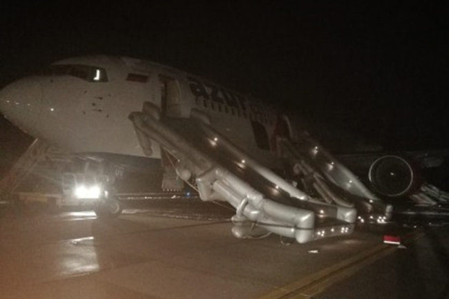В аэропорту Барнаула совершил аварийную посадку Boeing 767-300