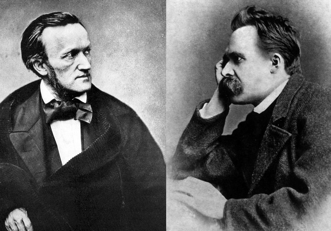 Фридрих Ницше с Вагнером