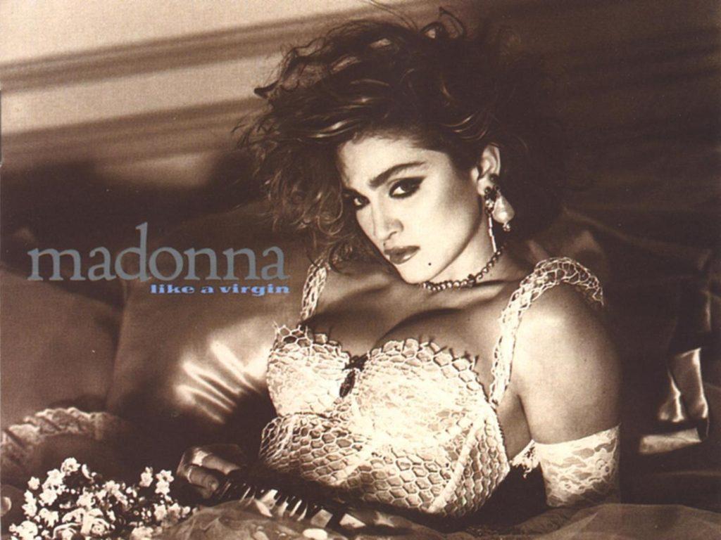 Второй альбом Мадонны«Like a Virgin»