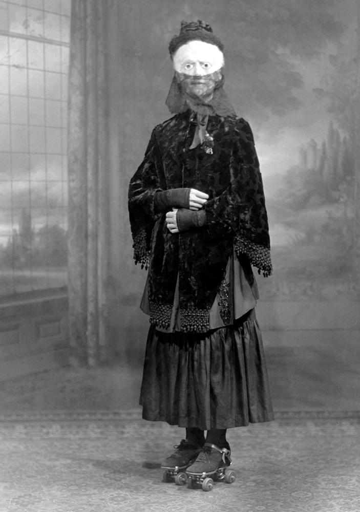Костюм на Хэллоуин, 1910 г.
