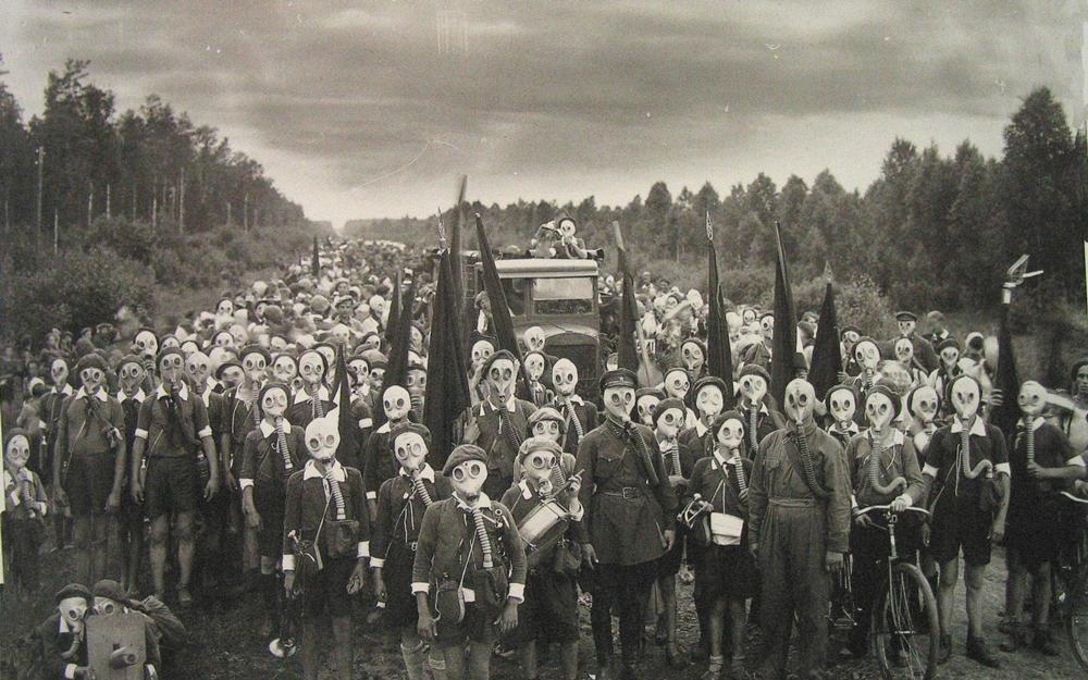 Военные учения в Ленинградской области, 1937 г.