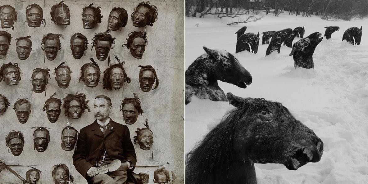 Страшные фото 20 века со всего мира