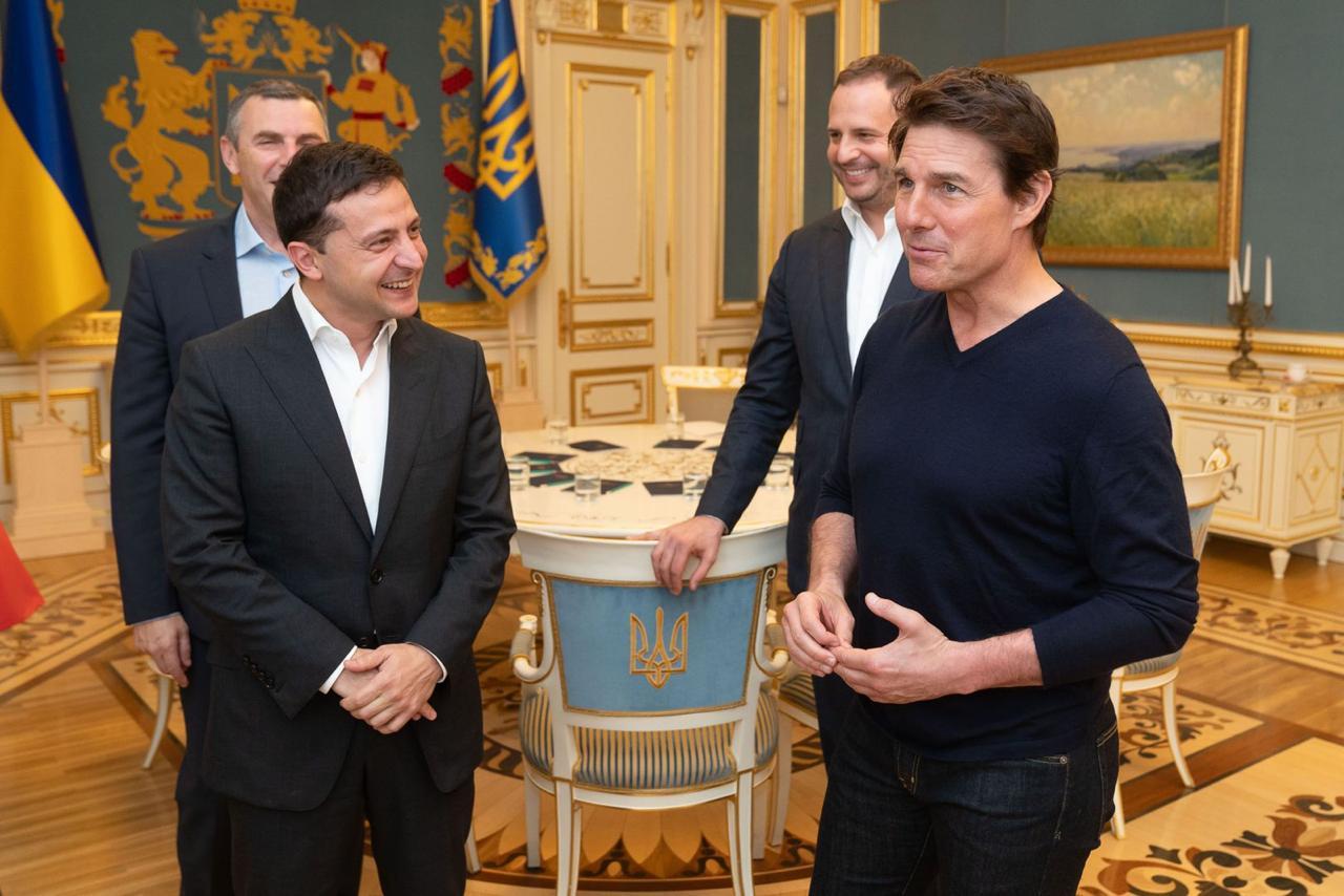 Том Круз посетил Украину по приглашению президента Владимира Зеленского