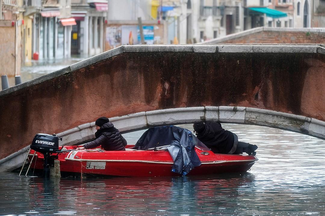 Наводнение в Венеции 2019 года в фото